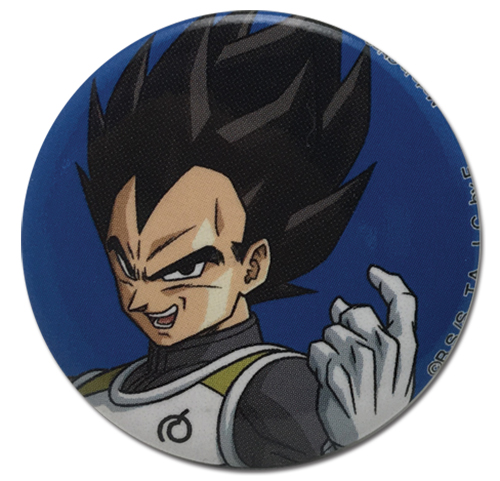 Dragon Ball Super - Vegeta Provoke Button 1.25'', an officially licensed product in our Dragon Ball Super Buttons department.