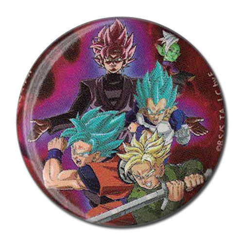 Dragon Ball Super - Group Button 1.25'' officially licensed Dragon Ball Super Buttons product at B.A. Toys.