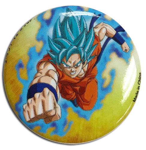 Dragon Ball Super - Resurrection - God Goku Button 1.25