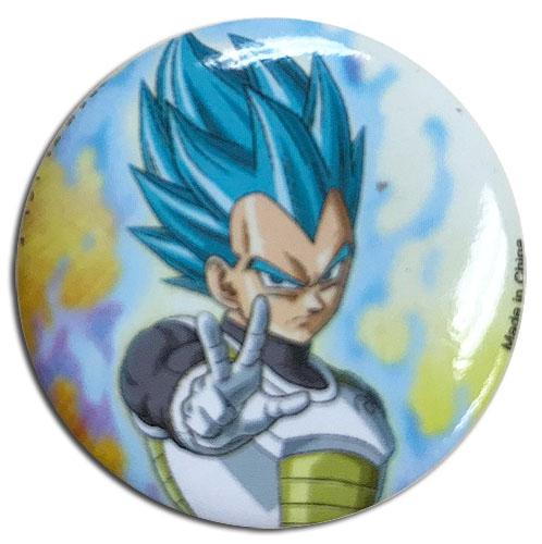 Dragon Ball Super - Resurrection God Vegeta Button 1.25