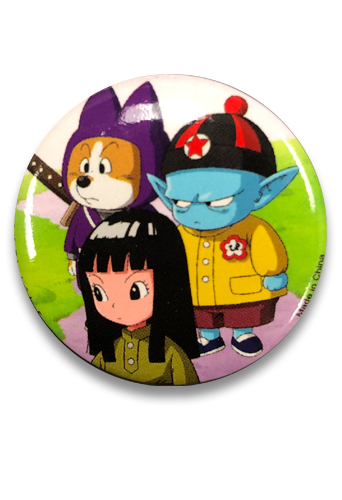 Dragon Ball Super - Pilaf, Mai & Shu Button 1.25, an officially licensed Dragon Ball Super product at B.A. Toys.