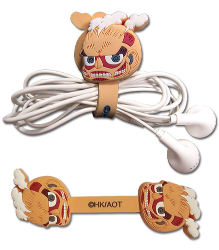 Attack On Titan - Titan Sd Cord Organizer, an officially licensed Attack On Titan product at B.A. Toys.