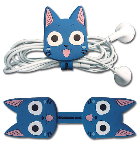 Fairy Tail - Happy Cord Organizer, an officially licensed product in our Fairy Tail Random Anime Items department.