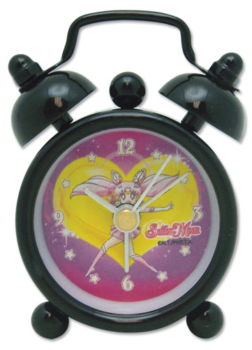 Sailormoon S Sailor Chibimoon Mini Desk Clock officially licensed Sailor Moon Clocks product at B.A. Toys.