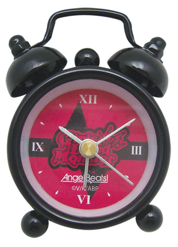 Angel Beats Girls Dead Monster Mini Desk Clock, an officially licensed Angel Beats Clock