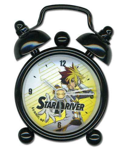 Star Driver Galactic Pretty Boy Mini Desk Clock, an officially licensed Star Driver product at B.A. Toys.