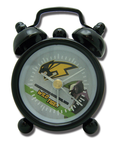 Tiger & Bunny Wild Tiger Sponsor Mini Desk Clock officially licensed product at B.A. Toys.