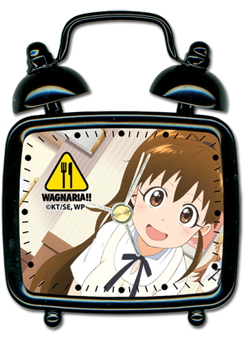 Wagnaria!! Popura Mini Desk Clock, an officially licensed product in our Wagnaria!! Clocks department.