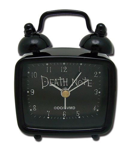 Death Note Death Note Square Mini Desk Clock [Back-Order Arrives October] officially licensed Death Note product at B.A. Toys.