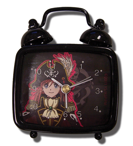 Bodacious Space Pirates Marika Desk Clock officially licensed product at B.A. Toys.