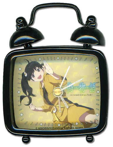 Nisemonogatari Karen Square Mini Desk Clock, an officially licensed product in our Nisemongatari Clocks department.
