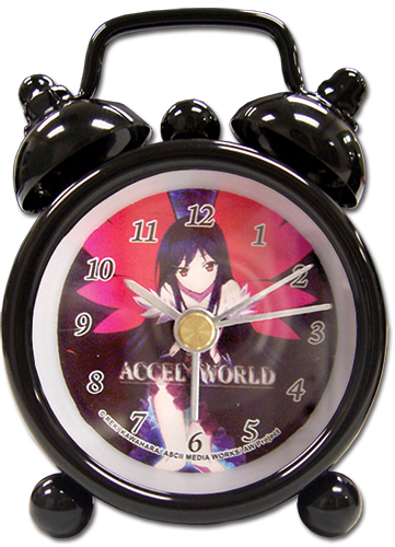 Accel World Kuroyukihime Desk Clock, an officially licensed Accel World product at B.A. Toys.