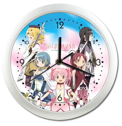 Madoka Magica Movie Magical Girls Wall Clock, an officially licensed product in our Madoka Magica Clocks department.