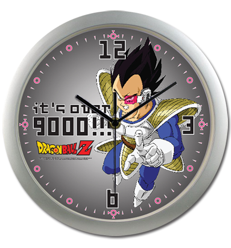 Dragon Ball Z 9000 Wall Clock, an officially licensed Dragon Ball Z Clock