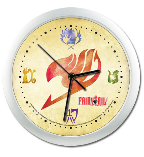 Fairy Tail Guilds Wall Clock, an officially licensed product in our Fairy Tail Clocks department.