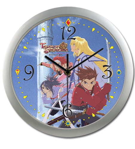 Tales Of Symphonia - Gc Keyart Wall Clock, an officially licensed product in our Tales Of Symphonia Clocks department.