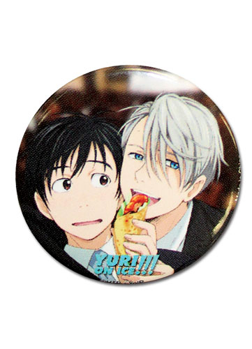 Yuri!!! On Ice - Yuri And Victor 1.25 Button