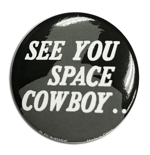 Cowboy Bebop - Bang Button 1.25'', an officially licensed product in our Cowboy Bebop Buttons department.