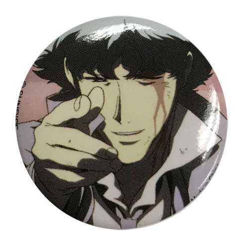 Cowboy Bebop - See You Space Cowboy Button 1.25