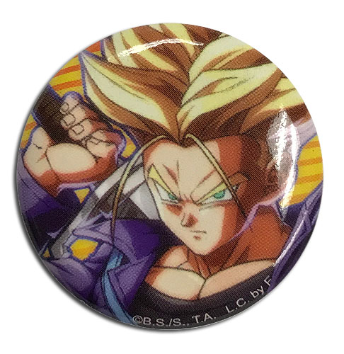 Dragon Ball Fighterz - Trunks Button 1.25'' officially licensed Dragon Ball Fighter Z Buttons product at B.A. Toys.