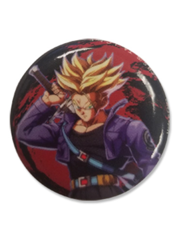 Dragon Ball Fighterz - Future Trunks Button 1.25'', an officially licensed product in our Dragon Ball Fighter Z Buttons department.