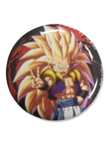 Dragon Ball Fighterz - Gotenks Button 1.25'', an officially licensed product in our Dragon Ball Fighter Z Buttons department.