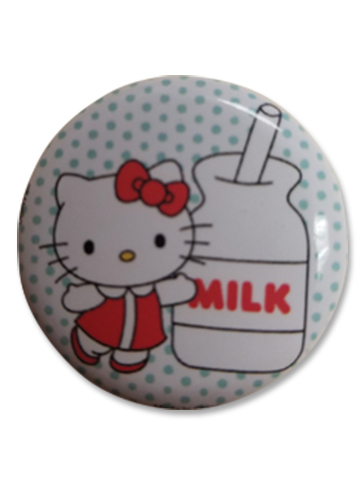 Hello Kitty - Milk Button 1.25