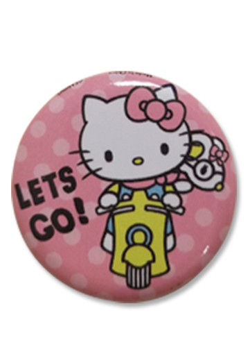 Hello Kitty - Button 1.25'', an officially licensed product in our Hello Kitty Buttons department.