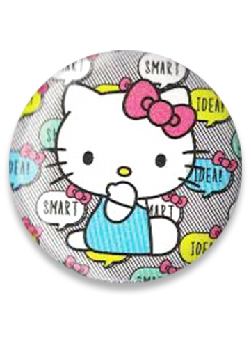 Hello Kitty - Smart Hello Kitty Button 1.25