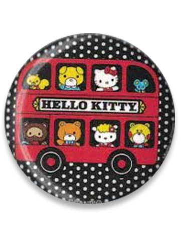 Hello Kitty - Hello Kitty & Friends Button 1.25