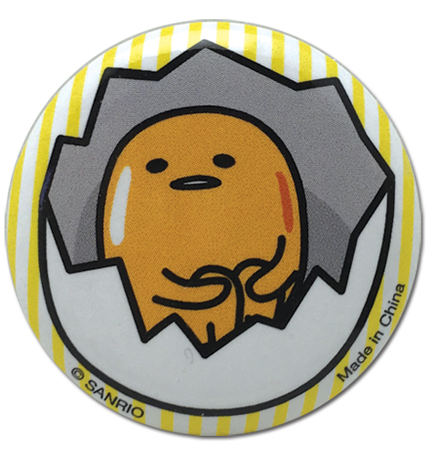 Gudetama - Huh Button 1.25, an officially licensed Gudetama product at B.A. Toys.
