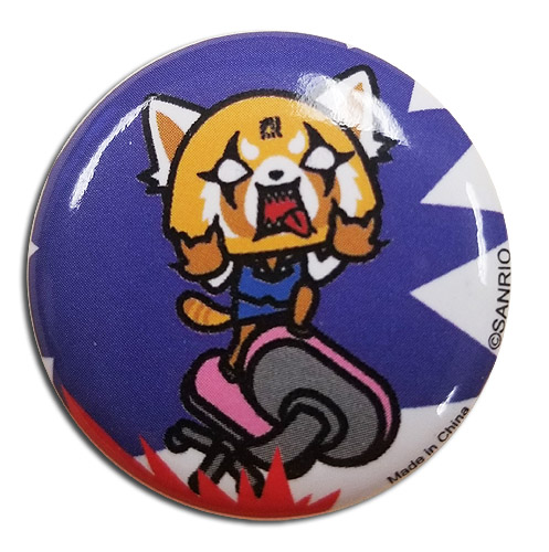 Aggretsuko - Button 1.25