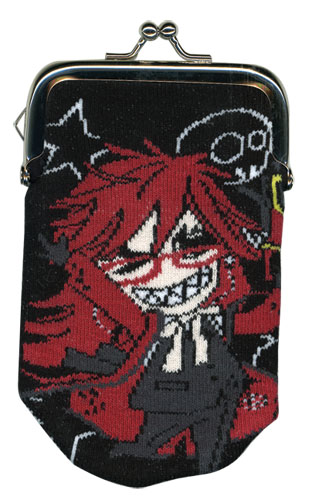 Black Butler - Grell Sd Knitted Coin Purse, an officially licensed Black Butler product at B.A. Toys.