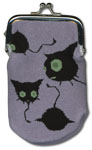 Blue Exorcist Coal Tar Knitted Coin Purse officially licensed Blue Exorcist Wallet & Coin Purse product at B.A. Toys.