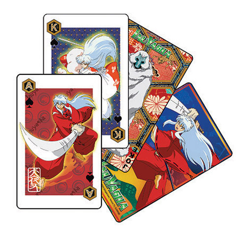 Inuyasha Playing Card, an officially licensed product in our Inuyahsa Playing Cards department.