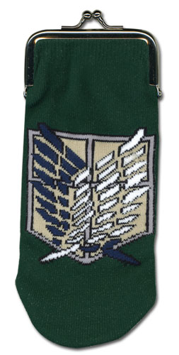 Attack On Titan - Scout Regiment - Knitted Coin Purse, an officially licensed product in our Attack On Titan Wallet & Coin Purse department.