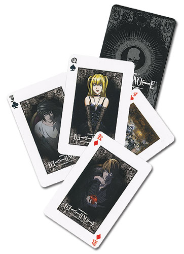 Death Note Playing Cards, an officially licensed Death Note Playing Card