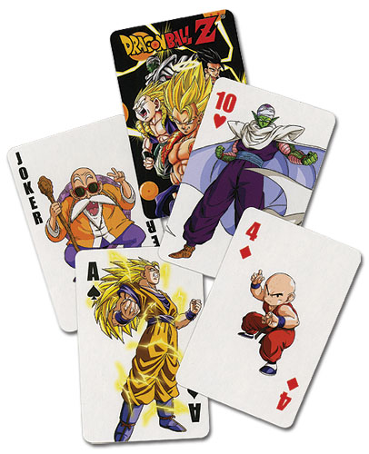 Dragon Ball Z Playing Cards, an officially licensed Dragon Ball Z Playing Card