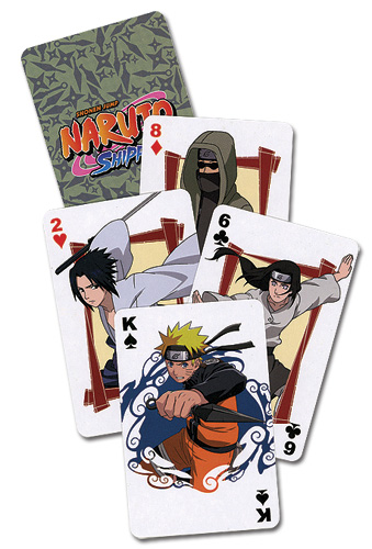 Naruto Shippuden Playing Cards, an officially licensed product in our Naruto Shippuden Playing Cards department.