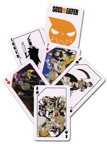 Soul Eater Playing Cards, an officially licensed product in our Soul Eater Playing Cards department.