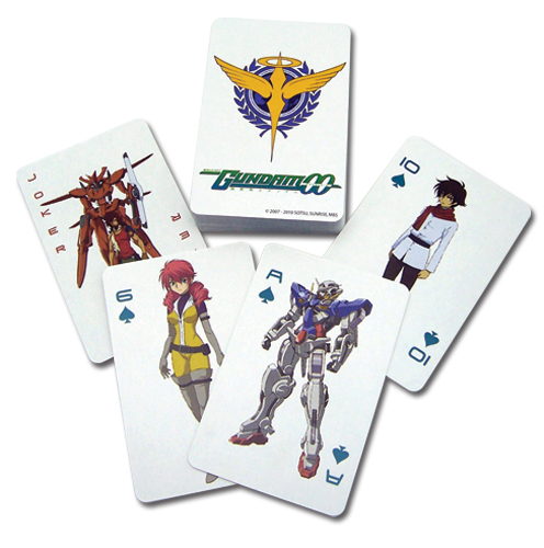 Gundam 00 Gundam Playing Card, an officially licensed product in our Gundam 00 Playing Cards department.