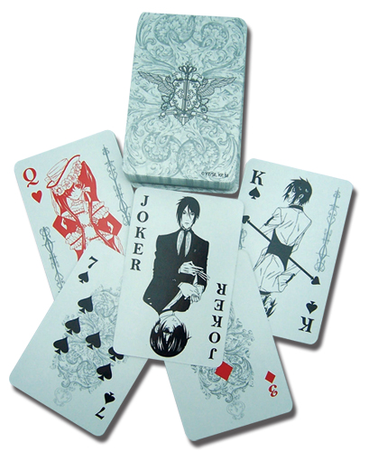 Black Butler Playing Cards, an officially licensed Black Butler Playing Card