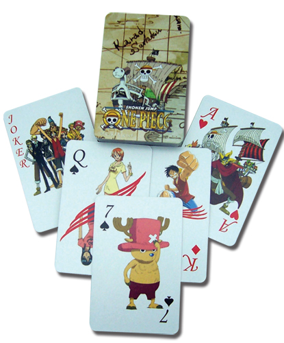 One Piece Playing Cards, an officially licensed product in our One Piece Playing Cards department.