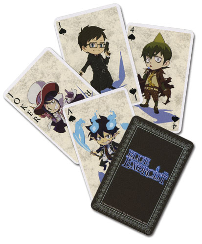 Blue Exorcist Playingcards, an officially licensed Blue Exorcist Playing Card