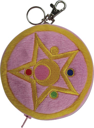 Sailor Moon - Moon Brooch Coin Purse 5''H, an officially licensed product in our Sailor Moon Wallet & Coin Purse department.