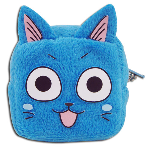 Fairy Tail - Happy Cube Coin Purse, an officially licensed product in our Fairy Tail Wallet & Coin Purse department.