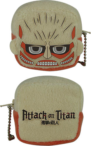 Attack On Titan - Titan Cube Coin Purse officially licensed Attack On Titan Wallet & Coin Purse product at B.A. Toys.