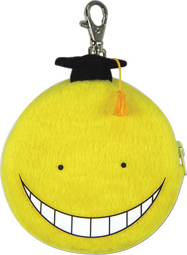 Assassination Classroom - Koro Sensei Coin Purse, an officially licensed product in our Assassination Classroom Wallet & Coin Purse department.