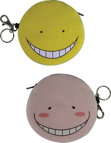 Assassination Classroom - Koro Sensei Face Coin Purse, an officially licensed product in our Assassination Classroom Wallet & Coin Purse department.