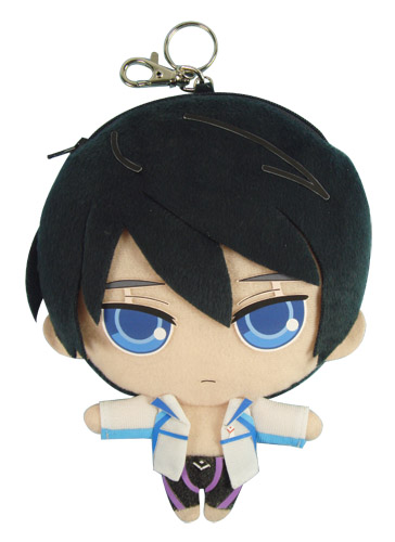 Free! - Haruka 7 Plush Coin Purse, an officially licensed Free! product at B.A. Toys.